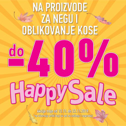 Happy Sale Novembar