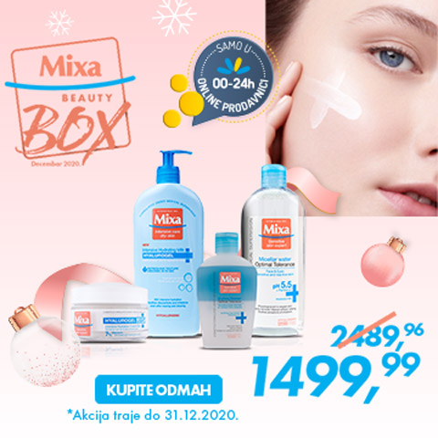 Beauty box Mixa decembar 2020