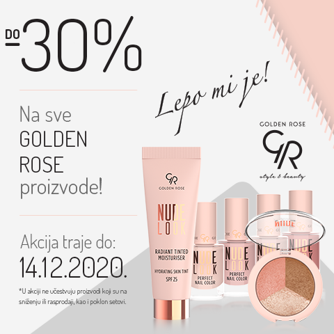 Golden rose 30%
