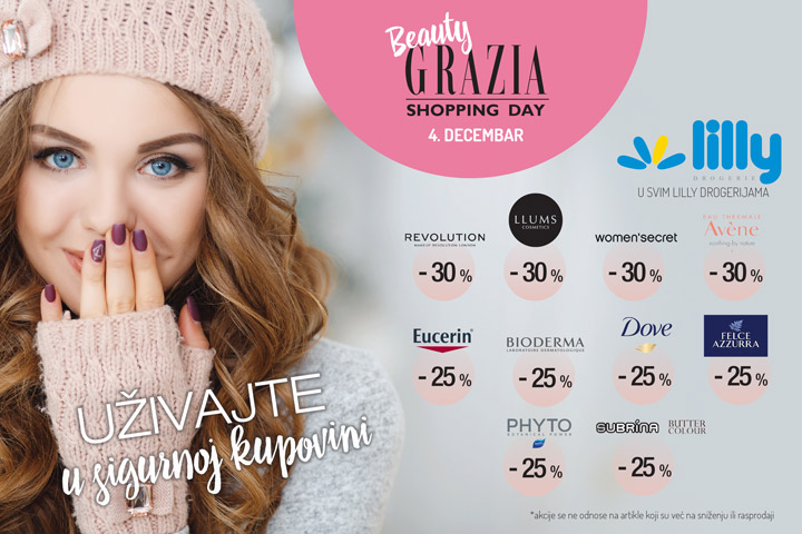 Grazia Shopping Day 4.12.2020.