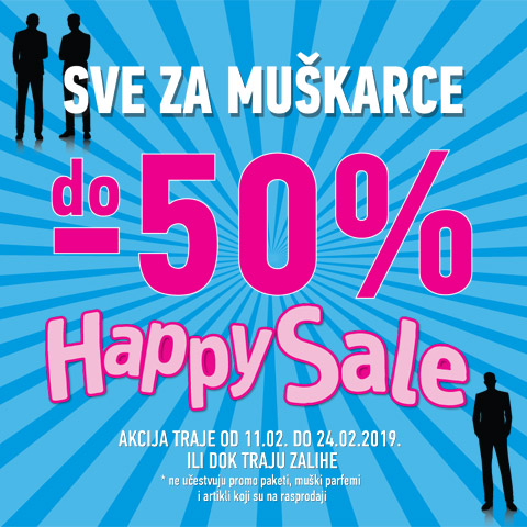 Happy sale februar