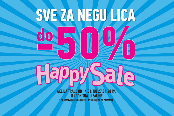 Happy sale januar