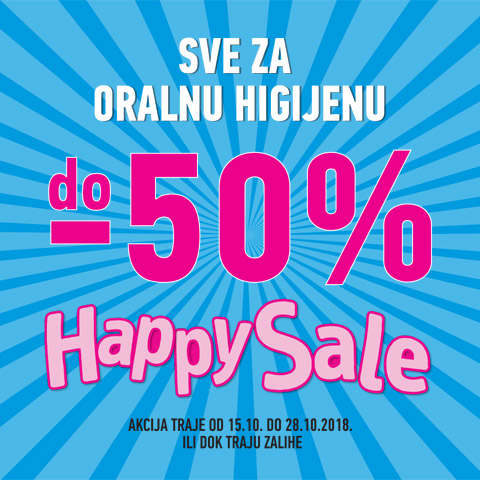 Lilly Drogerie Happy Sale