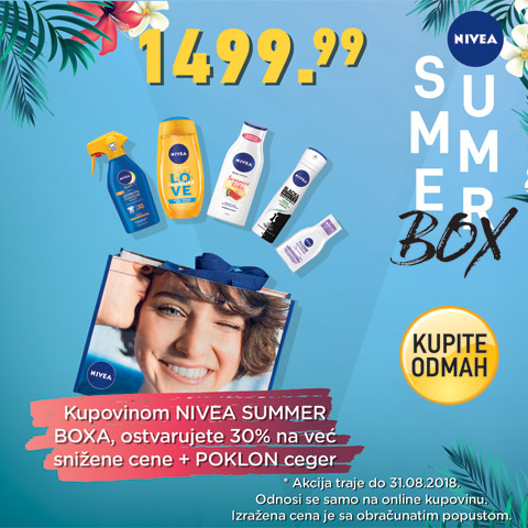 Nivea Summer box