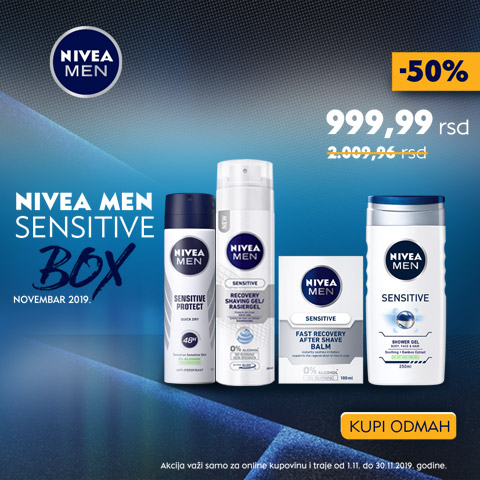 Nivea men box